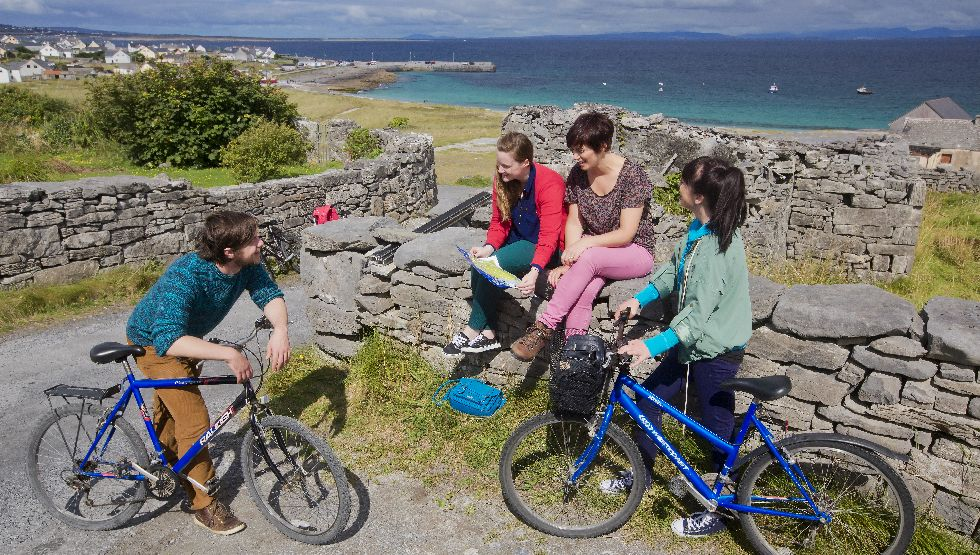 cycling and bike hire in doolin
