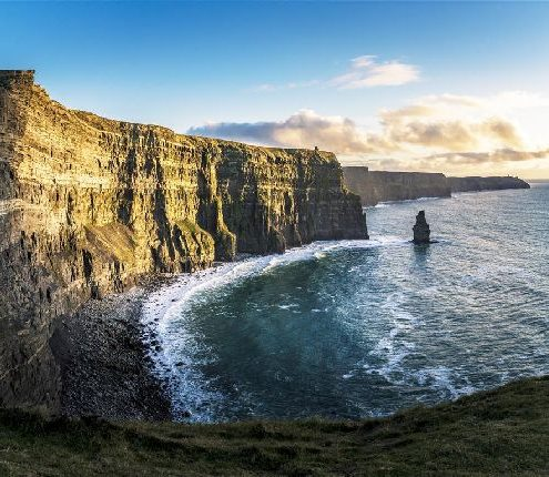 Cliffs of Moher Light and shadow