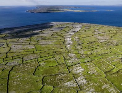 Aerial Inishman, Aran Islands