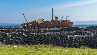 Day trip to Aran Islands, Shipwreck